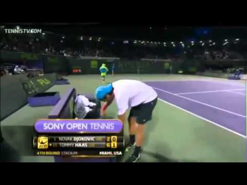Novak Djokovic vs Tommy Haas ATP Miami 2013 Sony Open Tennis 2013 HD