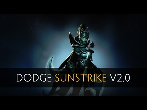 Dota 2 How to Dodge a Sunstrike v2.0