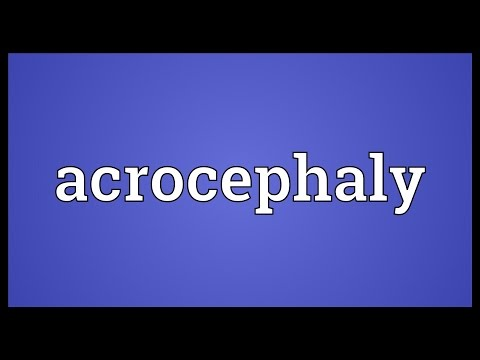 Header of acrocephaly