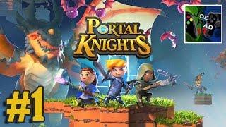 PORTAL KNIGHTS #1 - MINECRAFT + SKYRIM?  (HD)