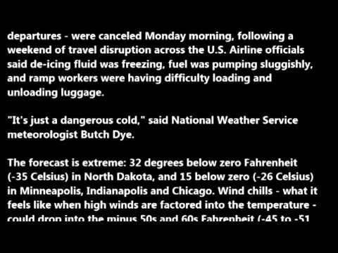 Polar Blast in US | 'Polar vortex' pushes freezing weather through US