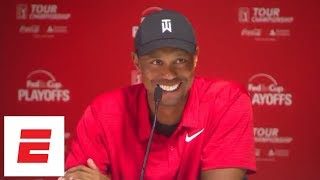 Tiger Woods Full Tour Championship Press Conference | ESPN