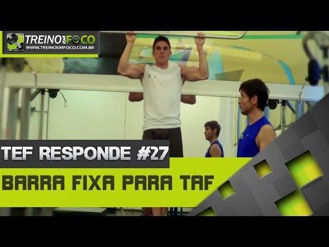 Treino em FOCO Responde #27 - Como treinar na barra Fixa para os TAF's