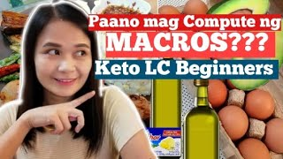 Counting and Reading of Macros | Keto Low Carb Philippines