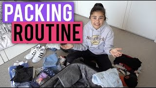 Packing for Vacation Routine | Grace's Room