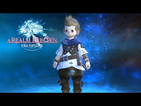 Lets Play Final Fantasy 14 on PS4 with Greg Miller and Destin Legarie Part 1