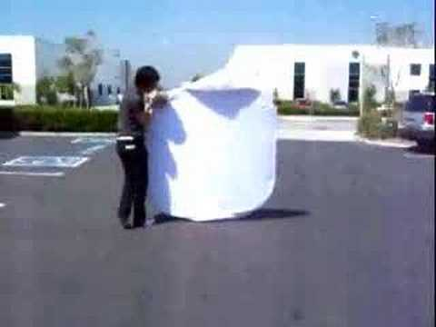 How to Fold a Photo Tent