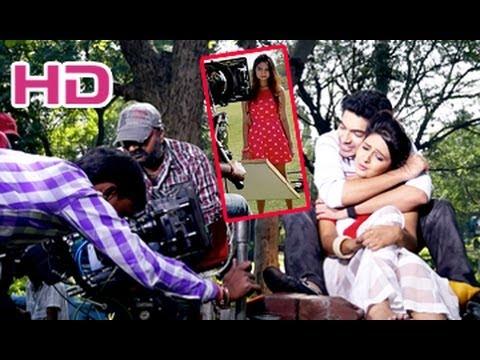 Dil Deewana Movie Making    at Deccan Park    Neha Deshpande...