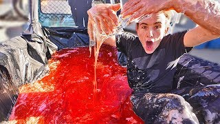 DIVING INTO A TRUCK BED OF SLIME for The Grand Tour!