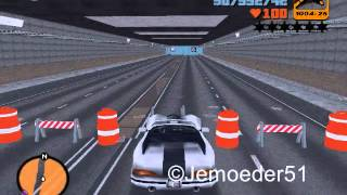 GTA3 - Open Tunnels Mod V2.0 Part 1