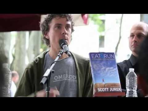 Ultra marathon athlete Scott Jurek speaking on his new book Eat & Run