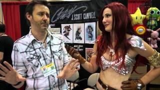 interview with J scott Campbell