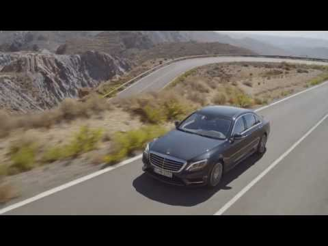 2014 mercedes S-Class driving footage