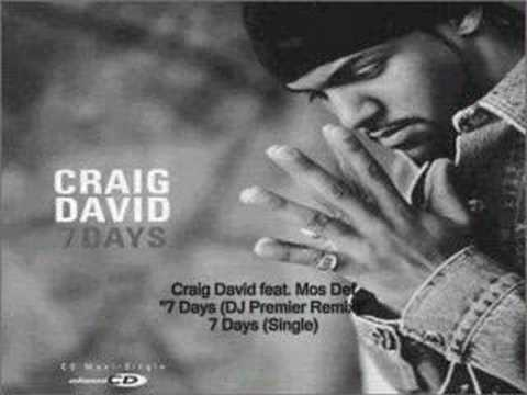 Craig David - Seven Days ( Remix ) Feat. Mos Def