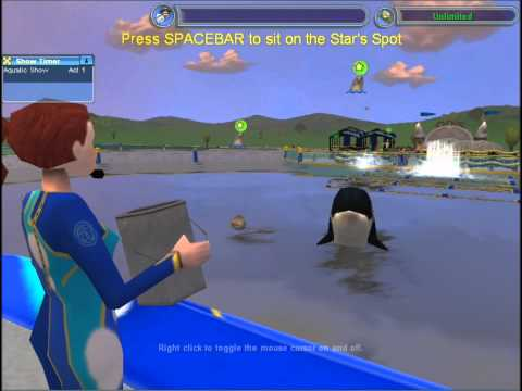 Zoo Tycoon 2 Aquatic Show