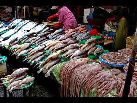 Рыбный рынок в Джимбаране. Обед экономного турЫста.