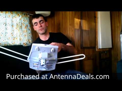 HDTV Outdoor Antenna Just Shipped And Opened ( HD2605 Install And Review )