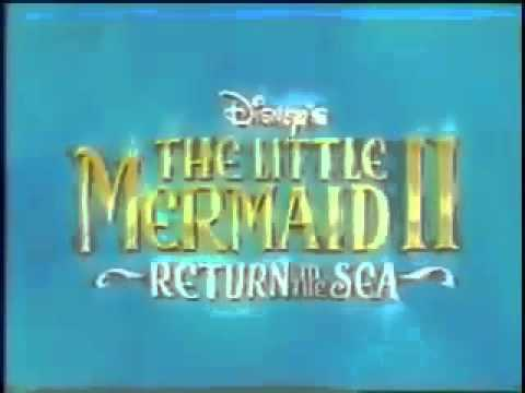 The Little Mermaid 2 Return To The Sea Vhs And Dvd Trailer video