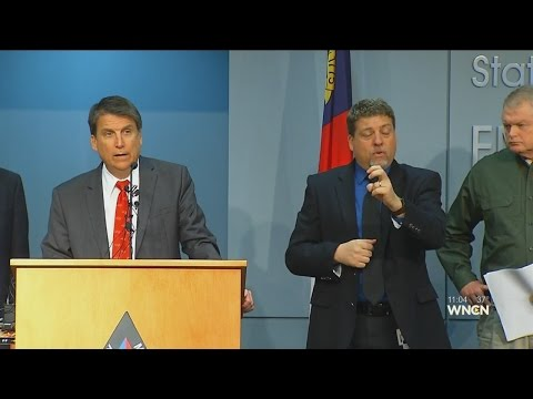 Gov. McCrory declares state of emergency ahead of winter storm