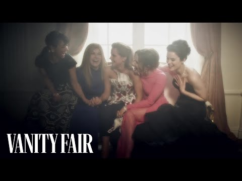 Emma Watson Cracks Up at V.F.'s WHCD After-Party
