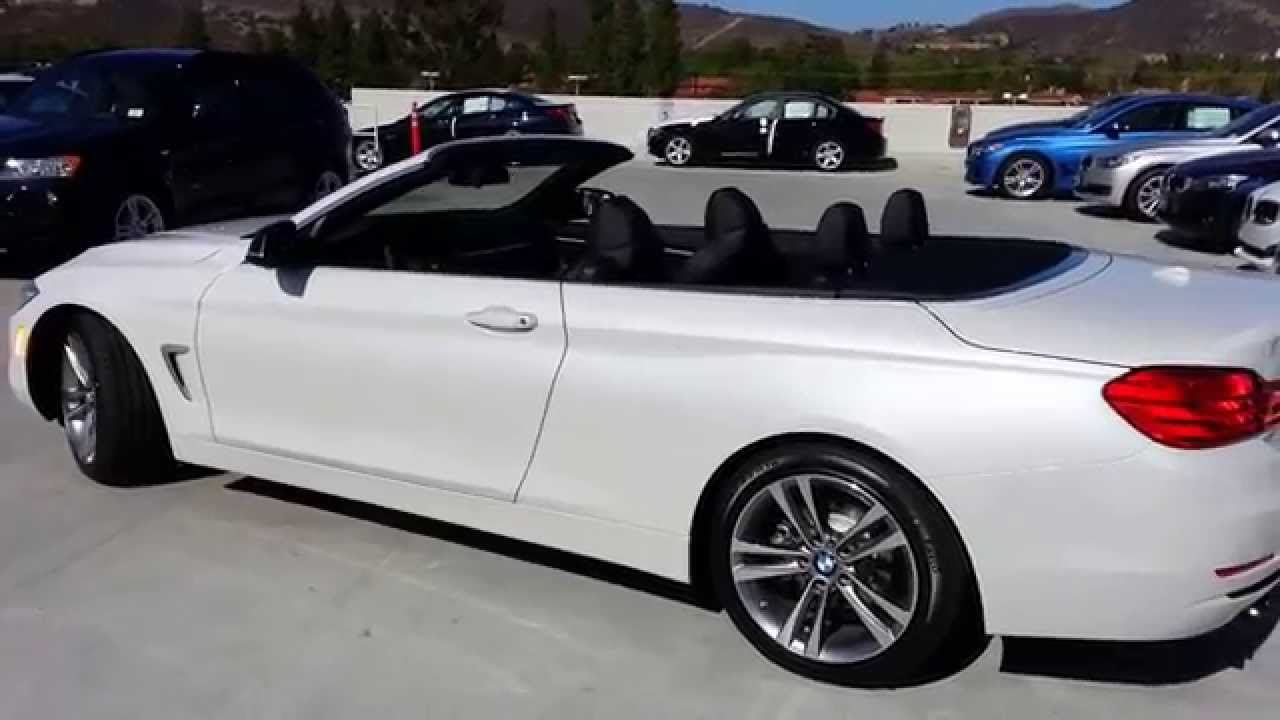 Bmw 428i Sport Line >> BMW 428I Convertible Sport Line New Body Style Car Review - YouTube