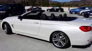 BMW 428I Convertible Sport Line New Body Style  Car Review