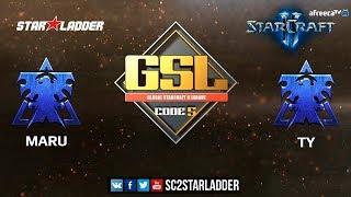2018 GSL Season 3 Final: Maru (T) vs TY (T) - StarCraft II