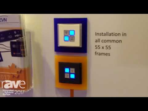 ISE 2017: EVN Electronic Components GmbH Tells Us About snapModular Push Button Module