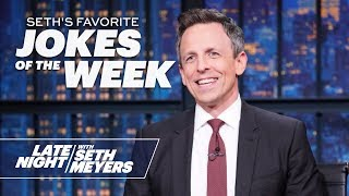 Seth's Favorite Jokes of the Week: White House Honors Military Dog, Trump Pardons a Turkey