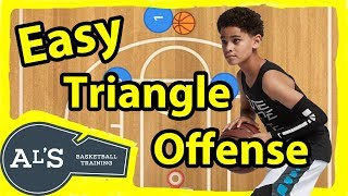 Easy Triangle Basketball Plays For Kids