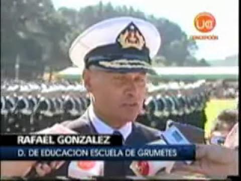 Ceremonia Escuela Grumete.Canal 13.