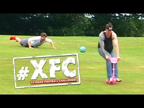 The Camp Hill Downhill Challenge (Extreme Football Challenges)