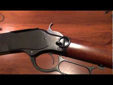 Cimarron/Uberti 1873 Winchester Saddle Ring Carbine-Close Up Look