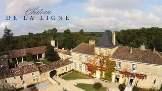 Chateau De La Ligne - Aerial Drone Video Real Estate