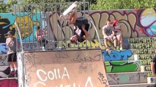 Reus Skatepark fest scooter part 2014