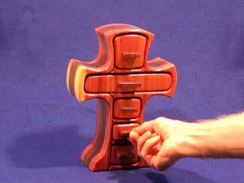 The Old Rugged Cross Is A Special Hand Crafted Box With Special Meaning To Many People.