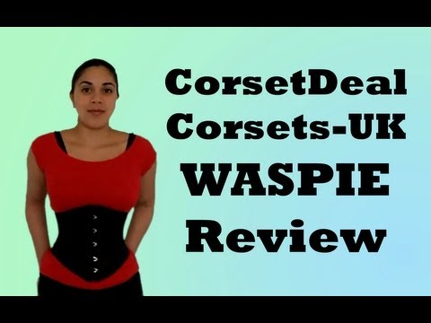 Waspie Underbust Review (Corset-Story/ Corsets-UK)