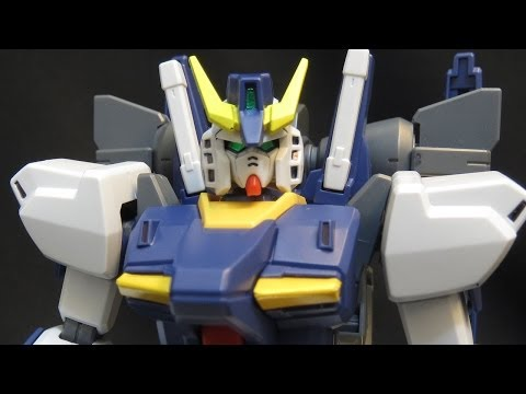 HG Build Gundam Mk-II (3: MS & V) Build FIghters Iori Sei's Custom Gunpla model review ガンプラ