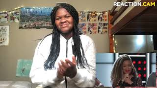 Sandyredd Gets Four Turns With Bishop Briggs' River!! Reaction Video!! She Left Me In Shock!!