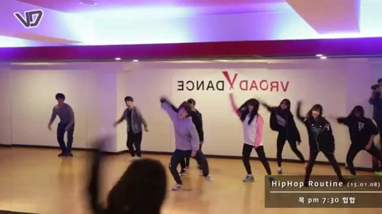 Hips Line Dance Hip-hop Dance Ribbit Class