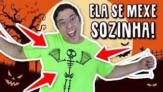 CRIEI UMA CAMISA VIVA QUE SE MEXE DE VERDADE!!! (HALLOWEEN)