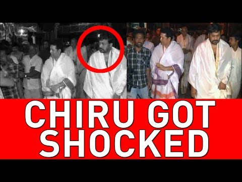 Megastar Chiranjeevi got shocked by seeing Sachin behaviour with Journalist