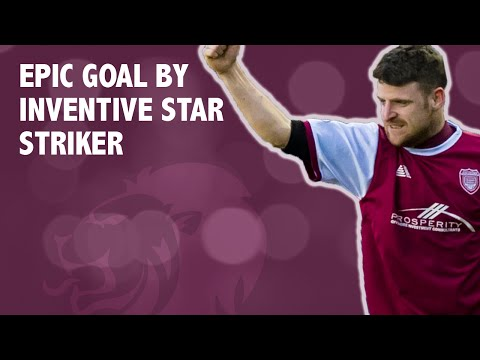 Epic goal by inventive star striker
