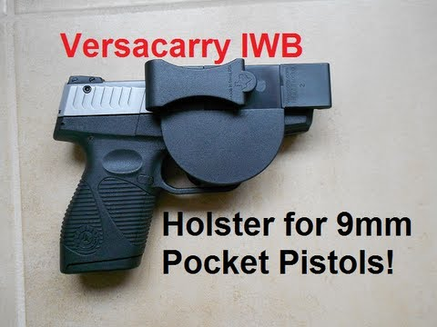 Versaycarry IWB Holster:  9mm Pocket Pistols