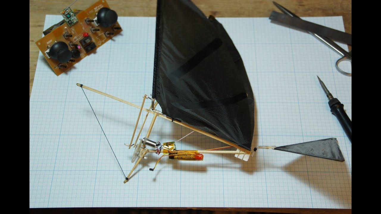 Как сделать из бумаги орнитоптер 64