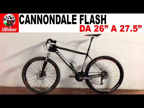 La mia Cannondale Flash da 26