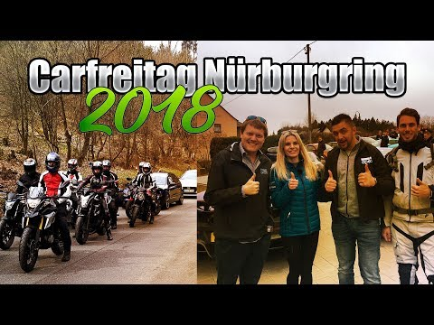 Carfreitag Nürburgring 2018 | Shmee150 und Sophia Calate getroffen bei apex in Nürburg