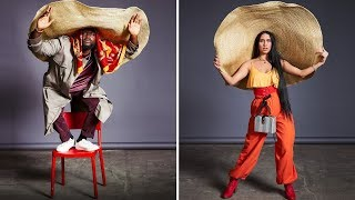 We Challenge Amateur Models To Style A Giant Hat