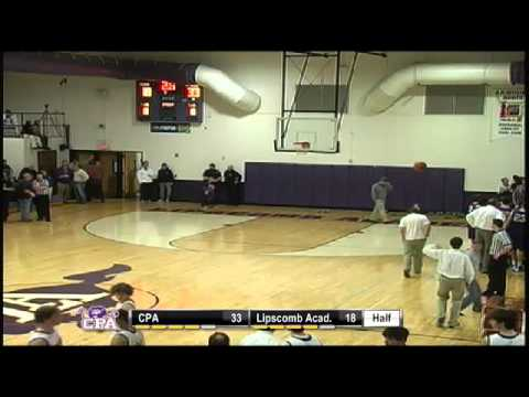 Boys Basketball- CPA at Lipscomb Academy