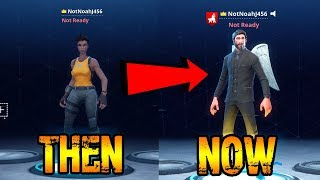 REACTING TO MY FIRST GAME OF FORTNITE BATTLE ROYALE!
